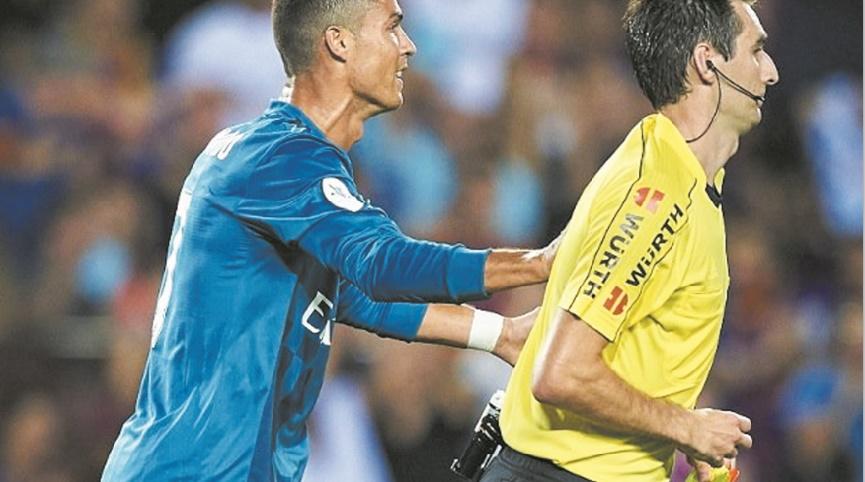 Real-Barça, des enjeux en coulisses Cinq matches de suspension pour Ronaldo
