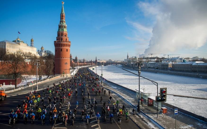 Les débuts difficiles du vélo à Moscou