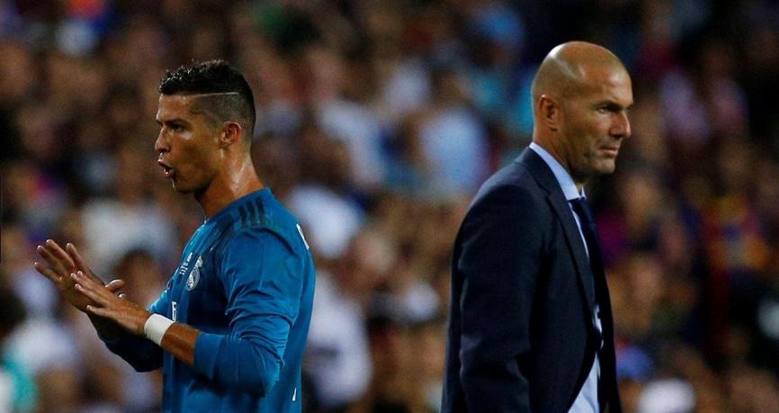 Zidane contrarié par la lourde sanction infligée à Ronaldo