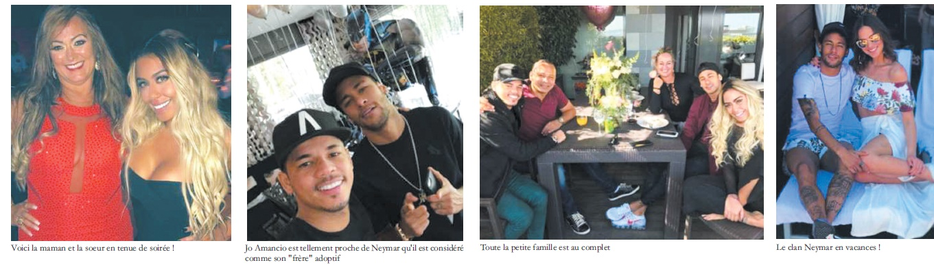 Le clan Neymar en photos