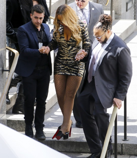 La bourde du garde du corps de Mariah Carey