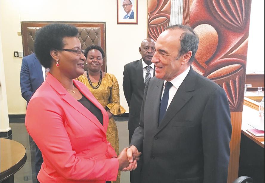Renforcement de la coopération parlementaire maroco-rwandaise