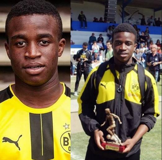 Youssoufa Moukoko douze ans et déjà star en U17 en Allemegne
