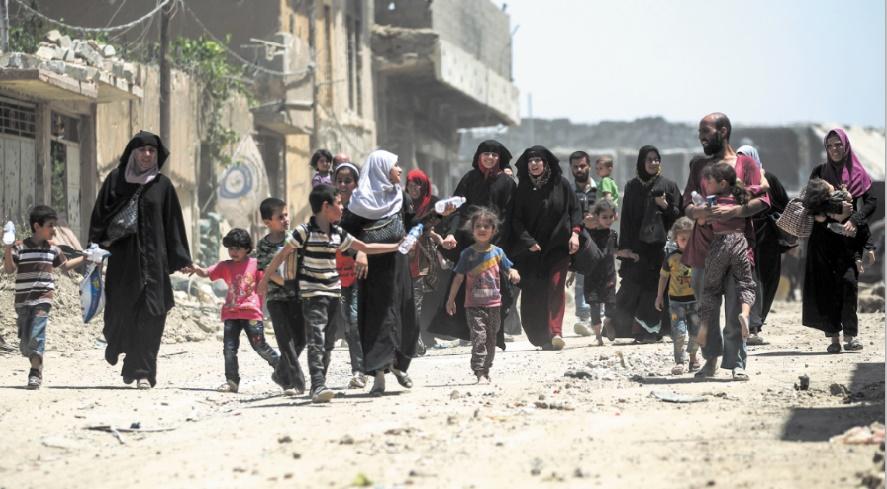 Amnesty met en garde à propos du sort des civils piégés à Rakka