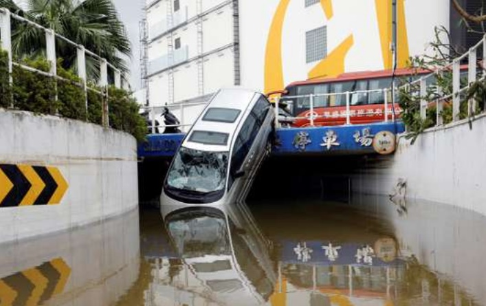 Le typhon Hato fait 16 morts au sud de la Chine