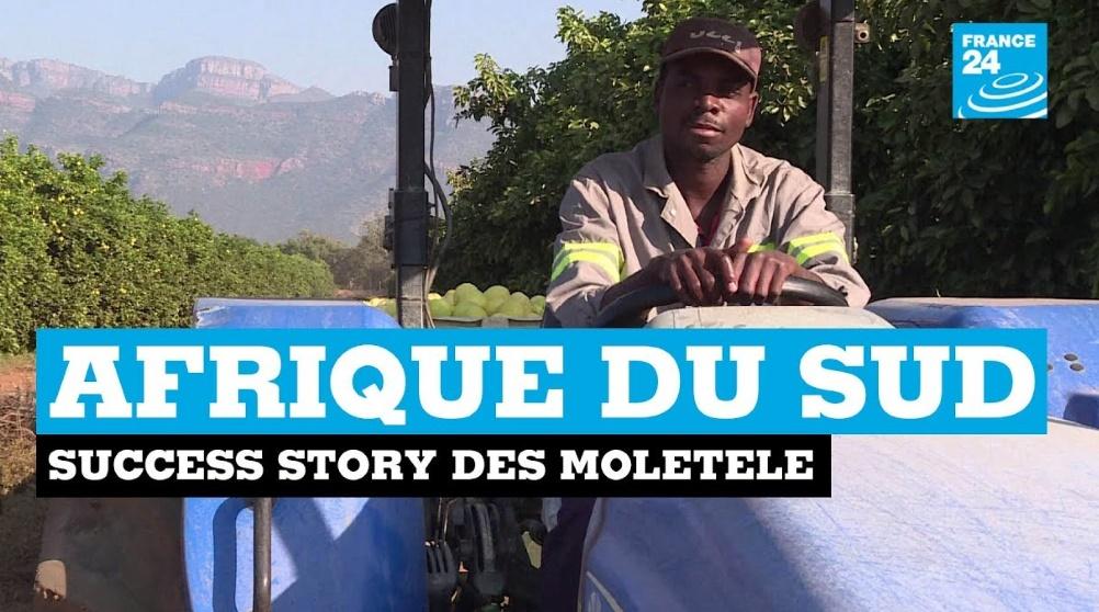 En Afrique du Sud, le retour à la terre réussi des Moletele