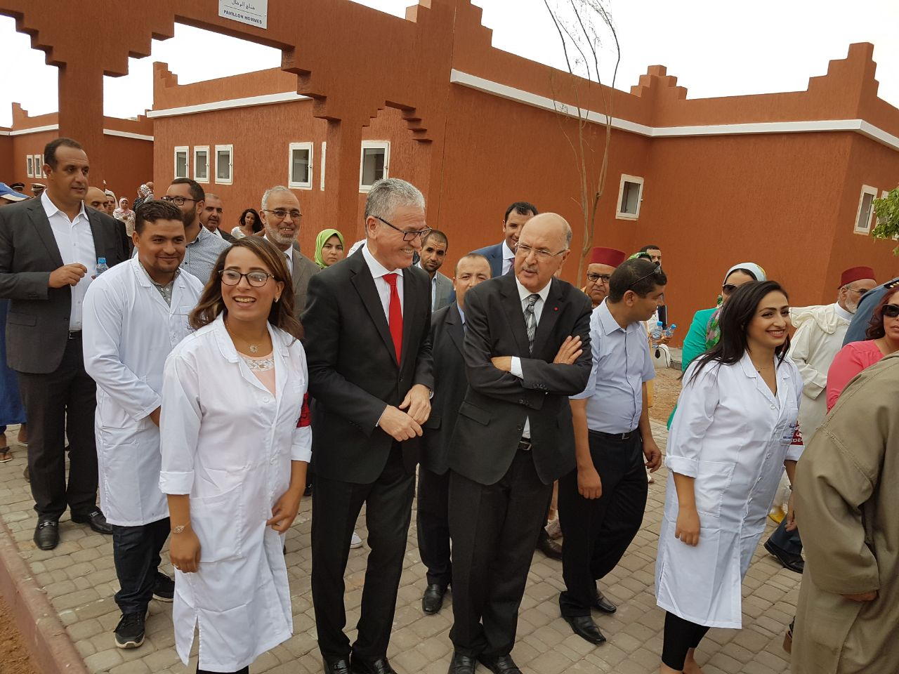 Inauguration d'un hôpital psychiatrique de 120 lits à Kelaât des Sraghna
