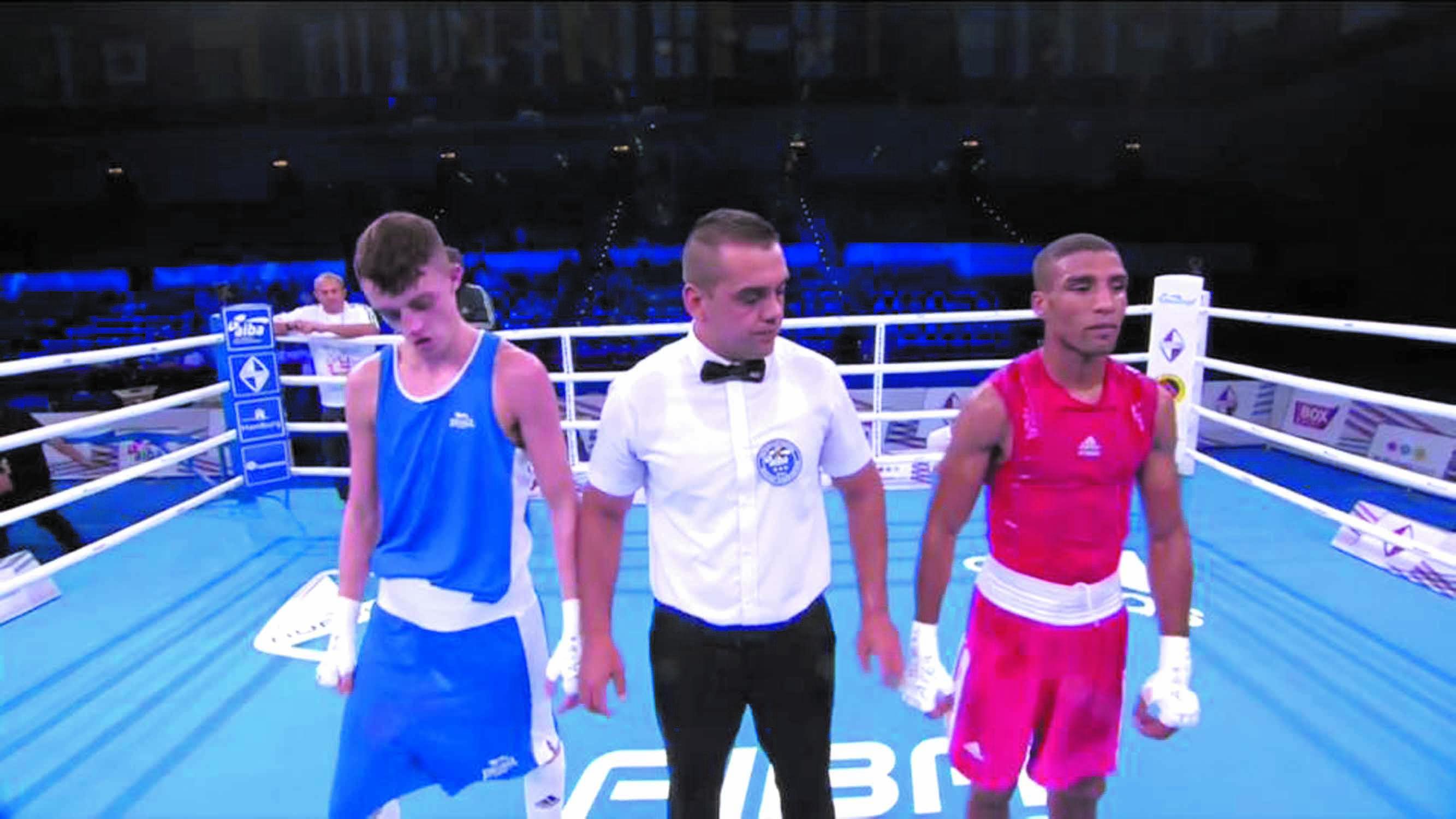 Abdelali Daraa éliminé du Championnat du monde de boxe à Hambourg