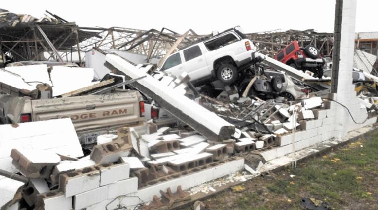 Houston dévastée par la tempête Harvey