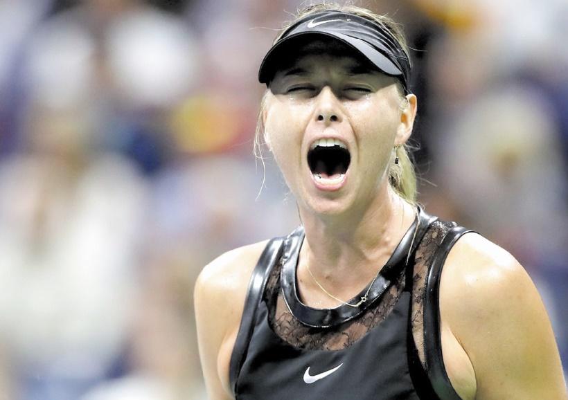 Maria Sharapova offre une soirée de gala pour son retour à l'US Open