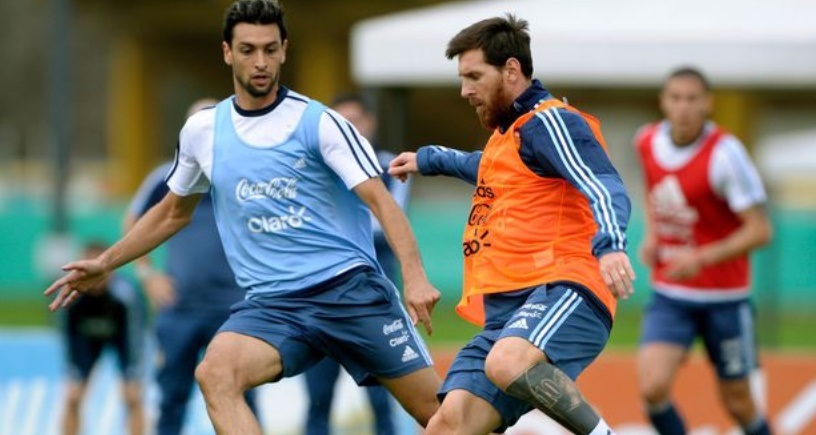 Messi et l'Argentine préparent le derby face à l'Uruguay
