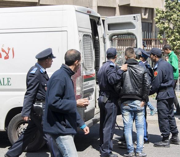 Arrestation de 62.575 personnes durant les sept premiers mois de 2017 à Casablanca