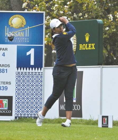 Maha Haddioui au LPGA Qualifying School