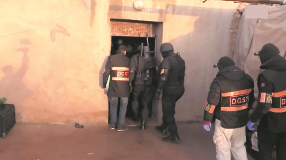 Démantèlement d'une cellule terroriste au Maroc et en Espagne