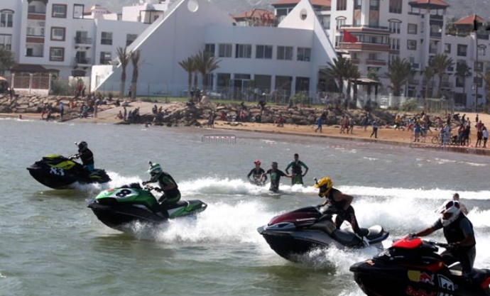 Agadir accueillera l'élite mondiale du jet-ski en novembre prochain