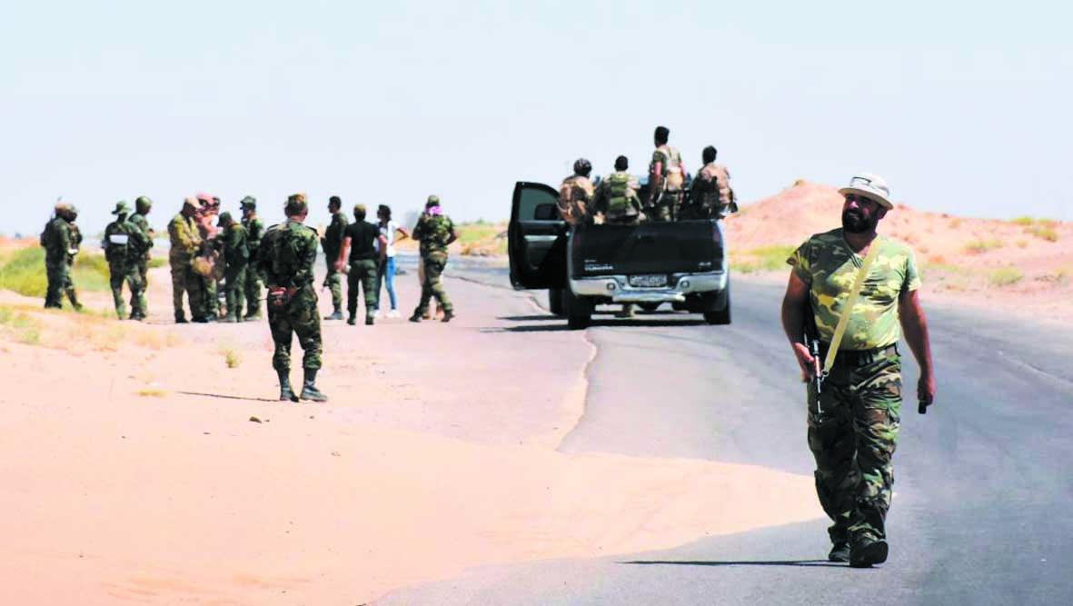L'armée brise le siège de l'EI  à l'aéroport de Deir Ezzor