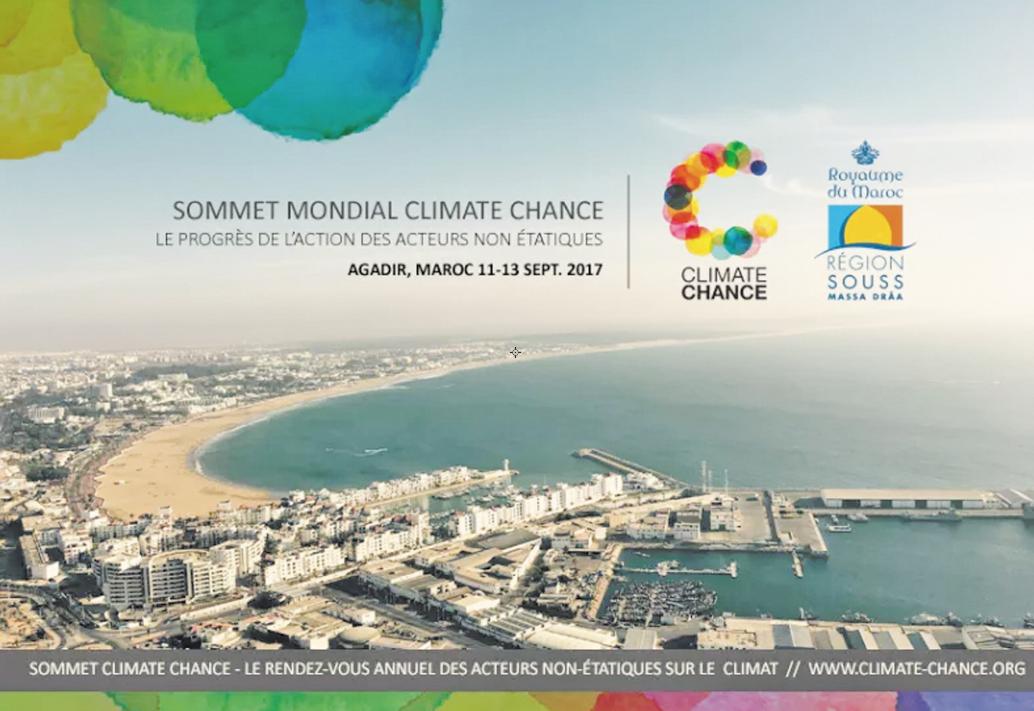 Agadir abrite la deuxième édition de la Conférence Climate Chance pour l'environnement
