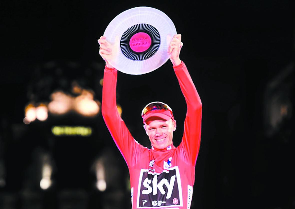 Froome scelle un légendaire doublé Tour-Vuelta