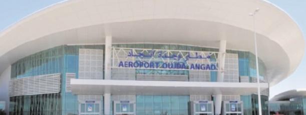 Hausse du trafic passager à l'aéroport Oujda-Angad en juillet