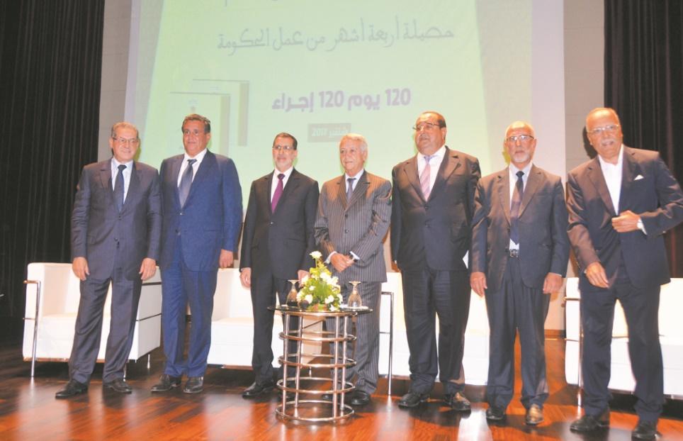 Les 120 jours et 120 mesures du gouvernement El Othmani