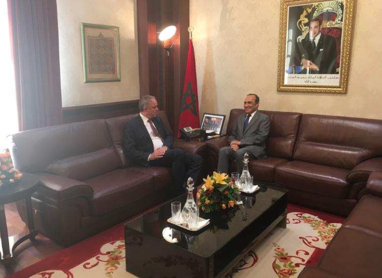 El Malki s'entretient avec l'ambassadeur danois à Rabat Renforcement des relations bilatérales à l'ordre du jour