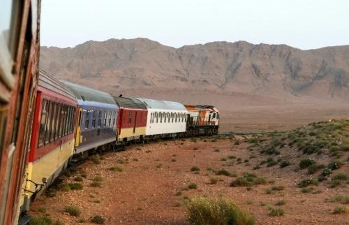 Au Maroc, le train du désert et de James Bond