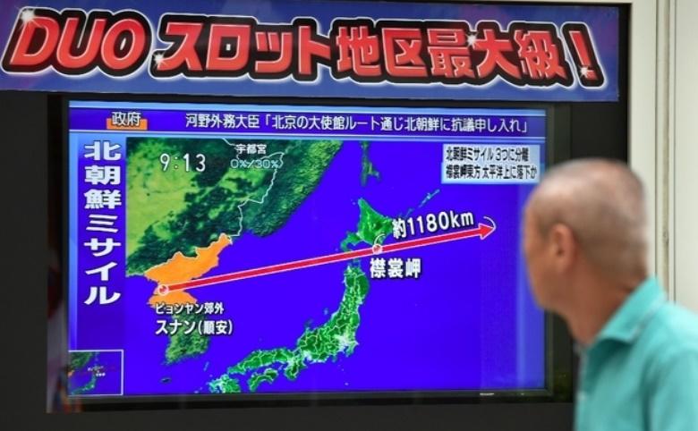 Pyongyang tire un nouveau missile au dessus du Japon