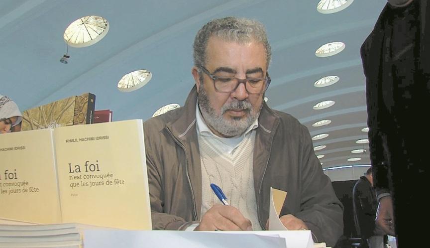 """Khalil Hachimi Idrissi présente son recueil  """"La foi n'est convoquée que les jours de fête"""""""