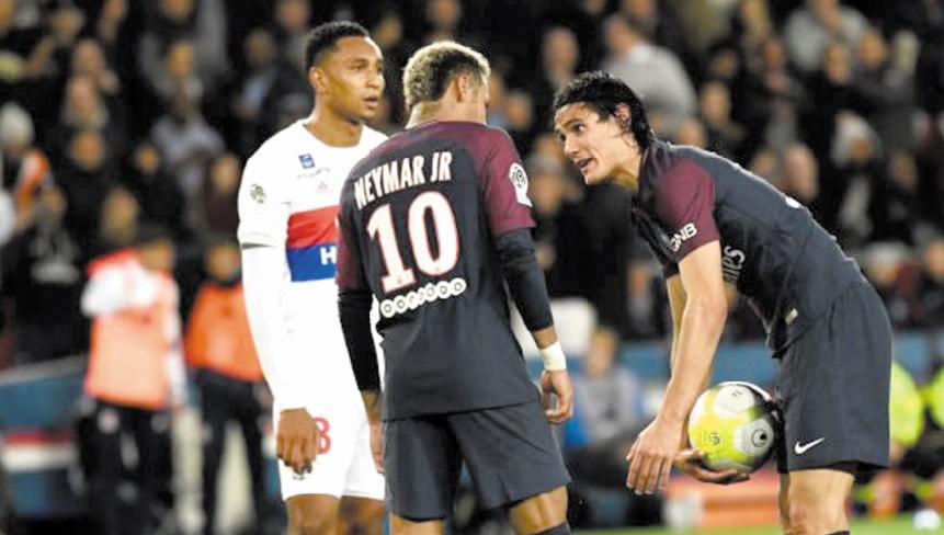 Cavani-Neymar ou le risque de la guerre des ego