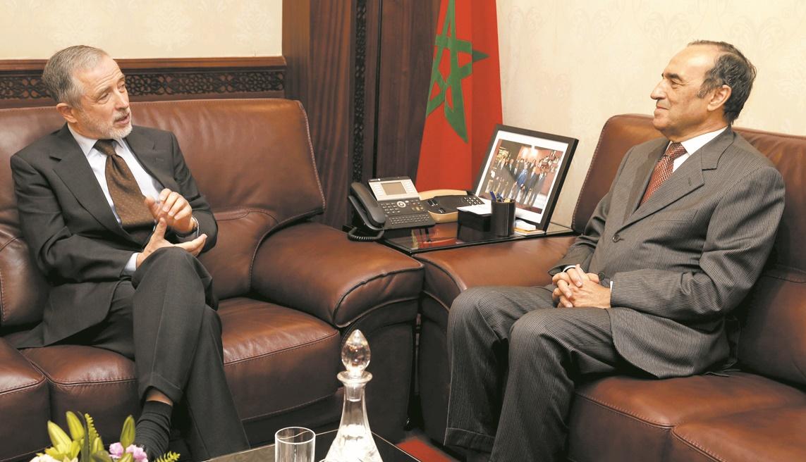 Habib El Malki s'entretient avec l'ambassadeur de la République d'Autriche au Maroc