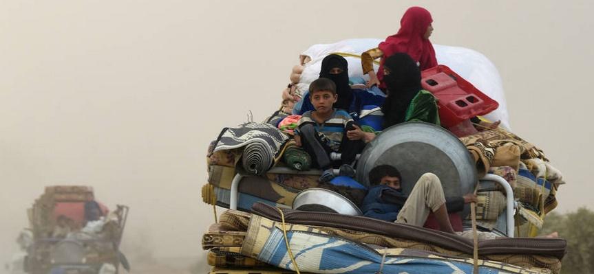 Des raids de la coalition ont tué 84 civils en mars près de Raqa