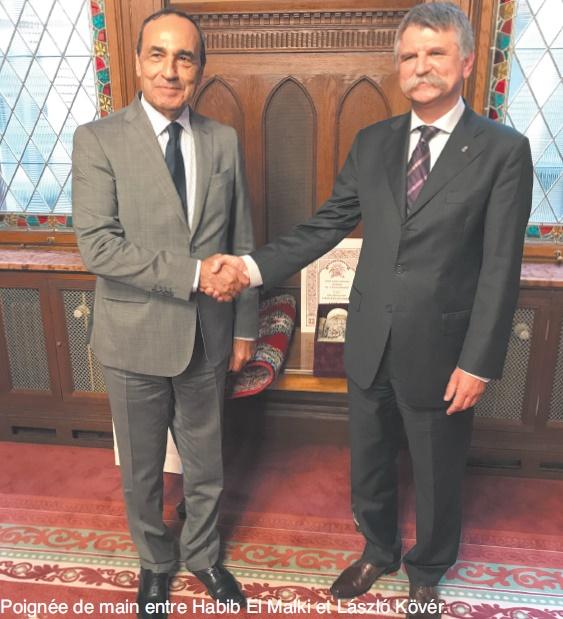 Visite de travail du président de la Chambre des représentants en Hongrie