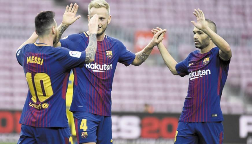 Liga : Le Barça fait le plein à vide Le Real gagne enfin chez lui