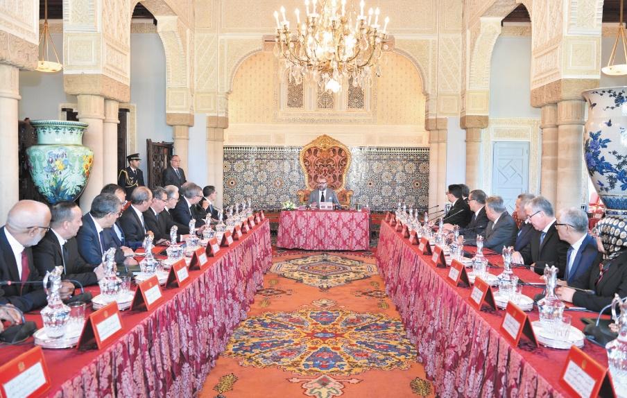S.M le Roi préside un Conseil des ministres à Rabat