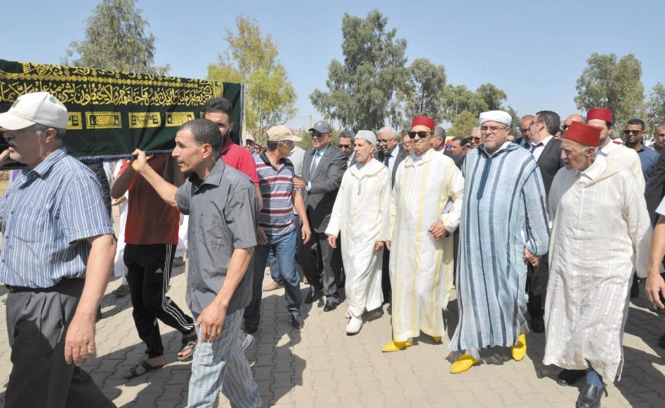 Emouvantes obsèques de la mère de Habib El Malki