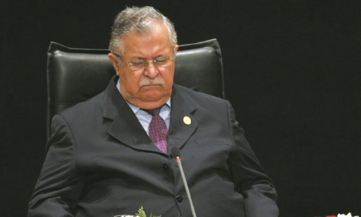 Décès de Jalal Talabani, vétéran de la cause kurde