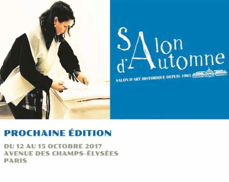 Maria kermadi repr sente l art contemporain marocain au salon d automne de paris - Salon art contemporain paris ...