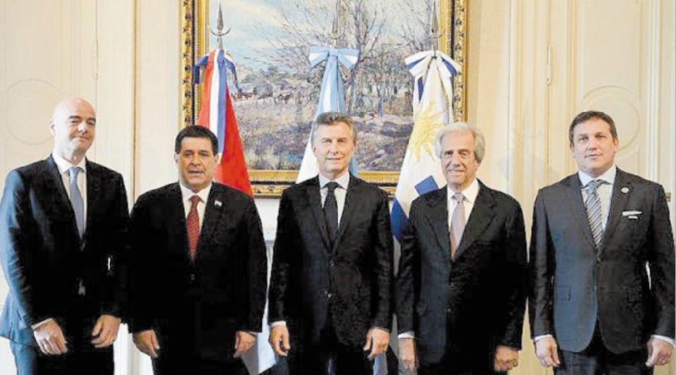 Mondial 2030 : L'Argentine, l'Uruguay et le Paraguay annoncent leur candidature officielle