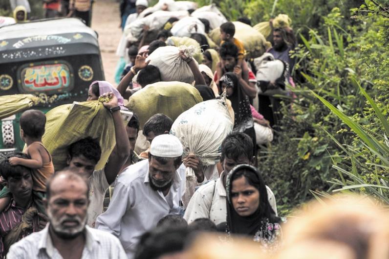 Nouvel afflux de réfugiés rohingyas au Bangladesh
