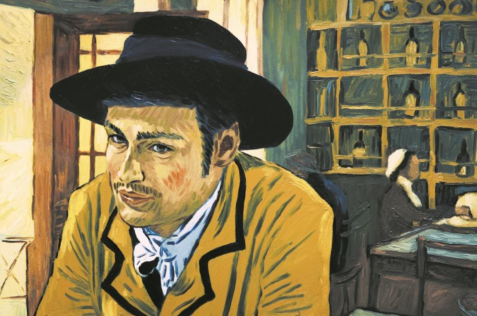 """""""La Passion Van Gogh"""" premier film en peinture animée"""