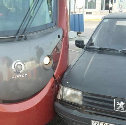 Déraillement de la rame d'un tramway à Casablanca