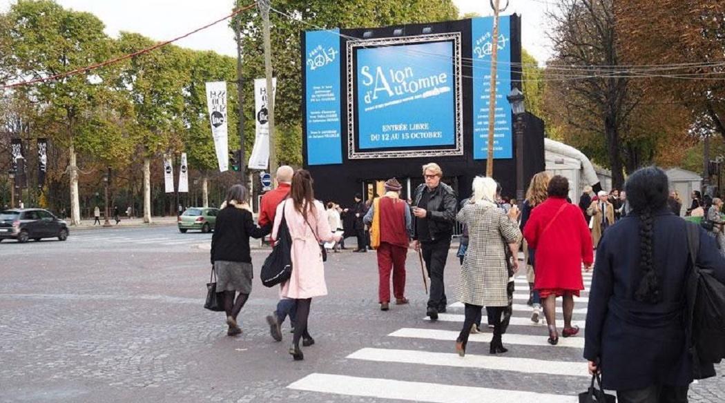L 39 art contemporain marocain brillamment repr sent au salon de l automne paris - Salon art contemporain paris ...