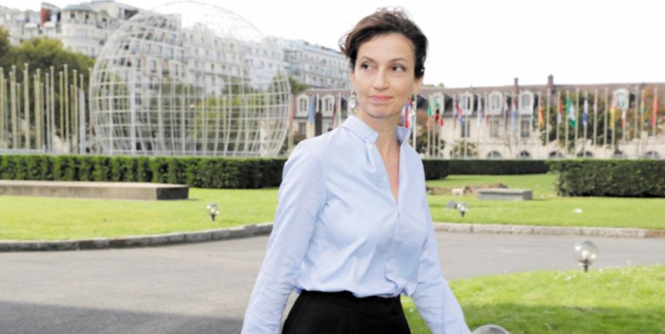 Audrey Azoulay désignée nouvelle  directrice générale de l'UNESCO
