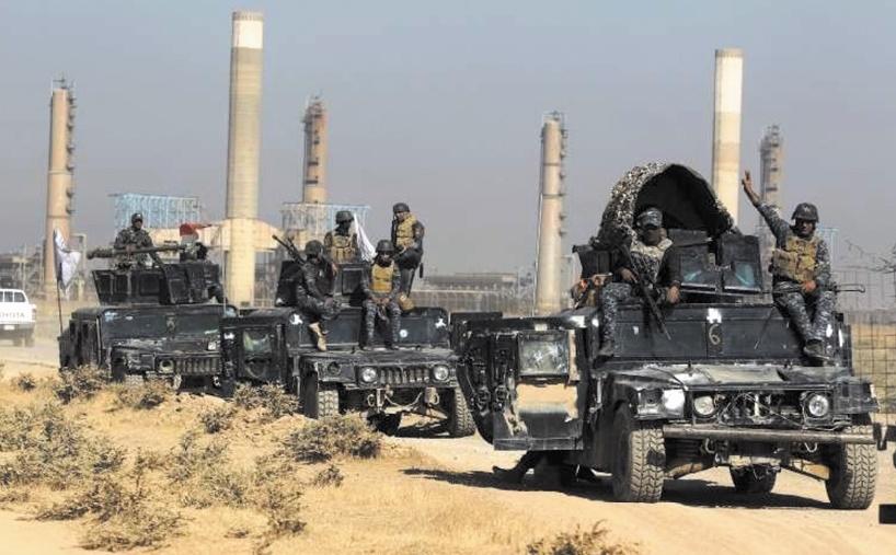 Bagdad reprend la quasi-totalité des champs pétroliers de Kirkouk aux Kurdes