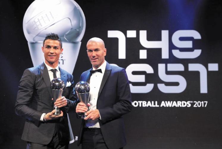 Prix Fifa : Avec Ronaldo et Zidane, le Real Madrid rafle tout