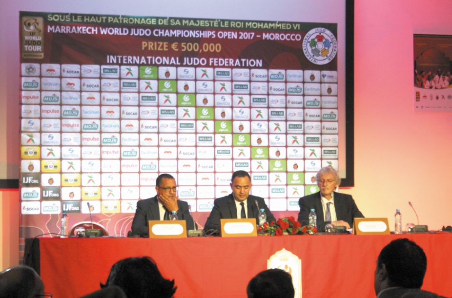 Marrakech future capitale mondiale du judo
