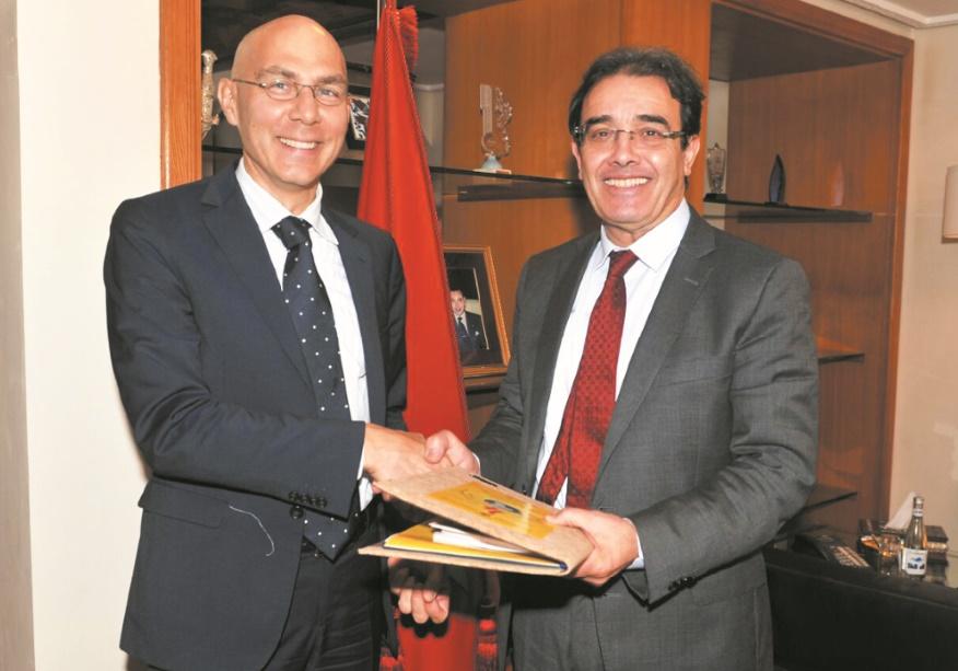 Abdelkrim Benatiq reçoit le Haut-commissaire adjoint pour la protection au HCR