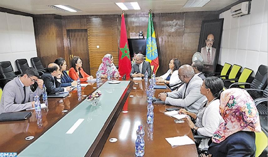 Volonté ferme du Maroc et de l'Ethiopie de booster leurs échanges
