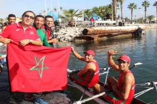 L'EN décroche la 3ème place  au Championnat arabe d'aviron