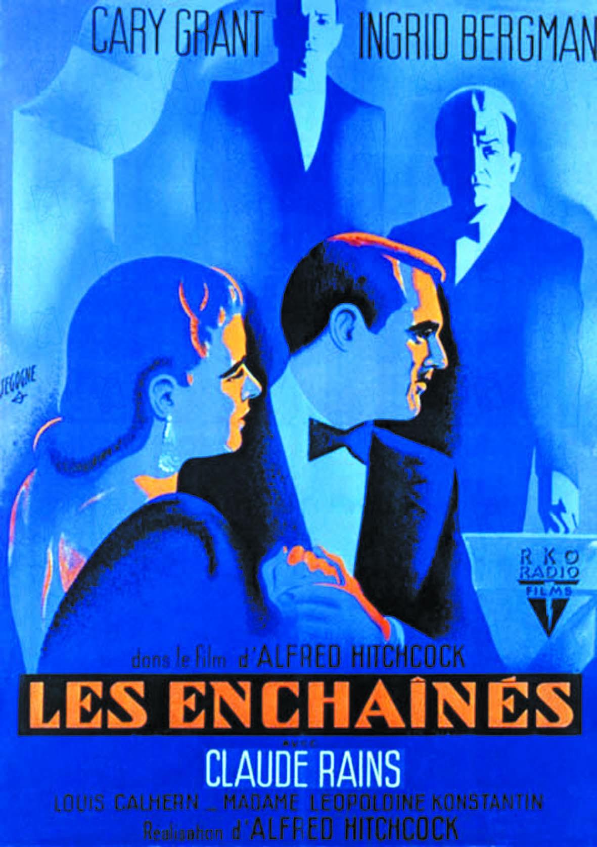 Les meilleurs films de tous les temps : 41 - Les Enchaînés Alfred Hitchcock (1948)